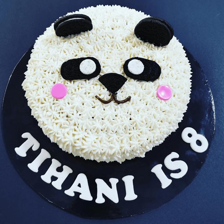 Fetching Panda Cake