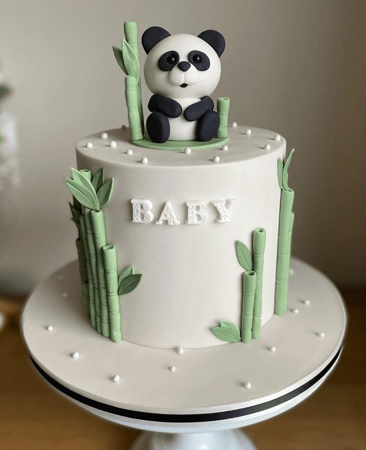 Fine Panda Cake
