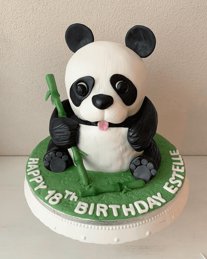 Ideal Panda Cake
