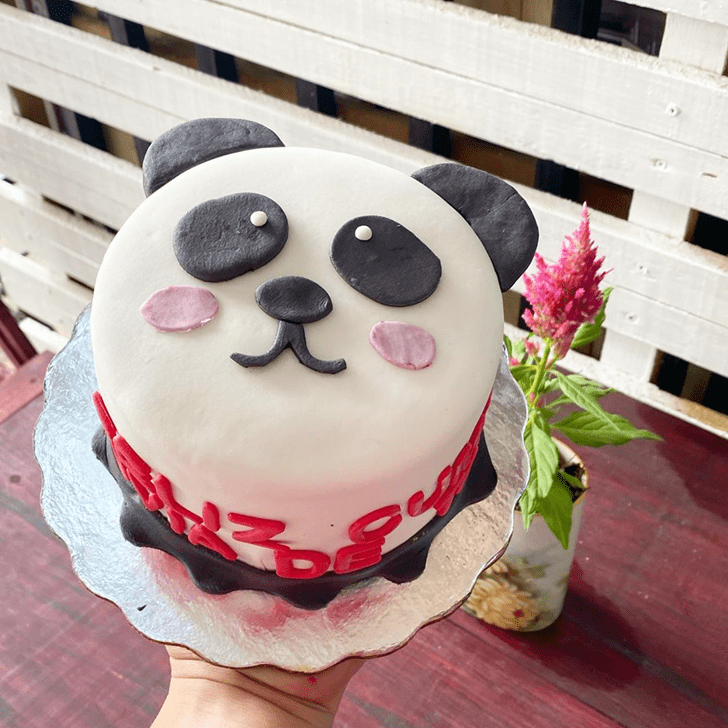 Lovely Panda Cake Design