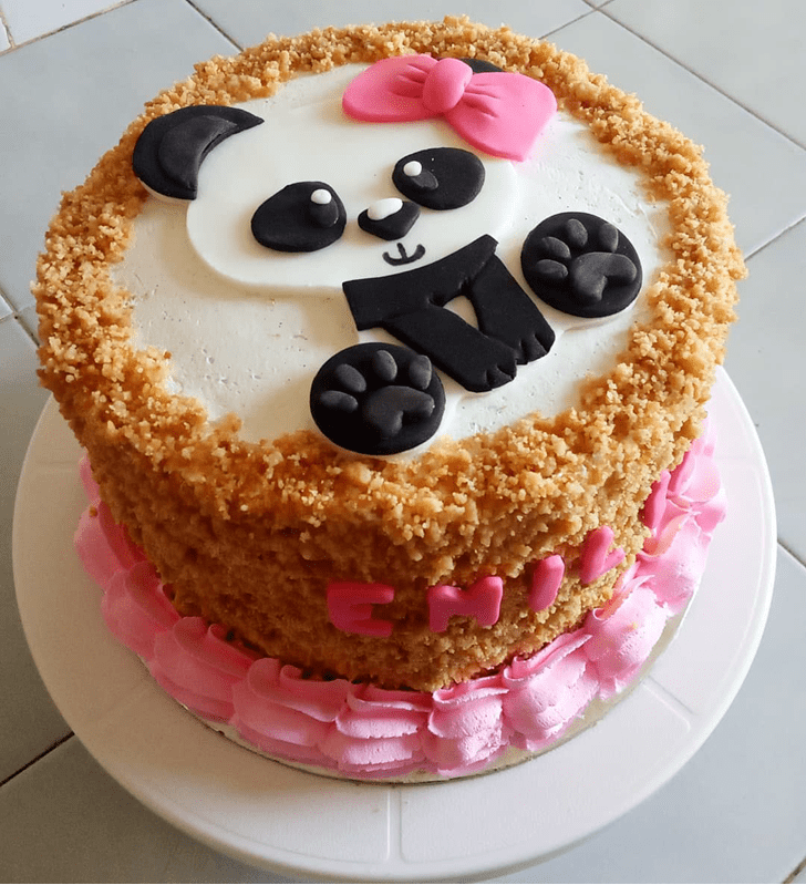 Magnetic Panda Cake