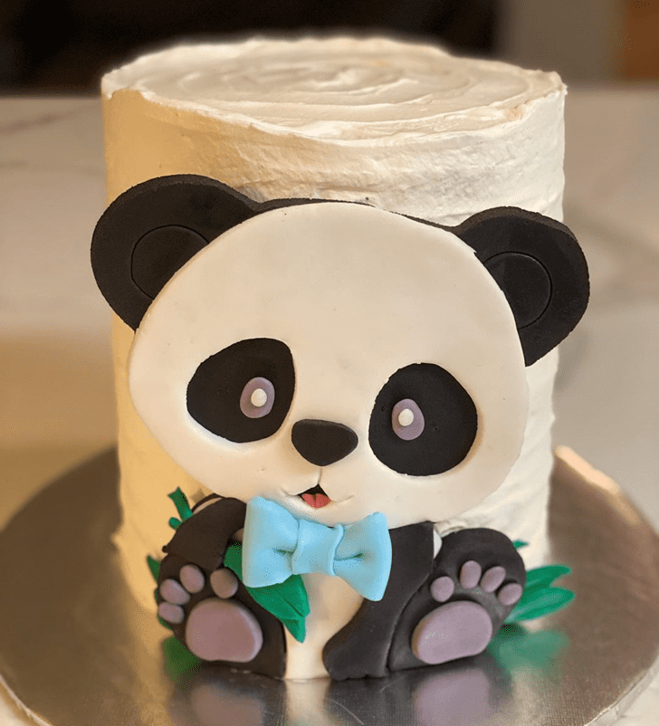 Mesmeric Panda Cake