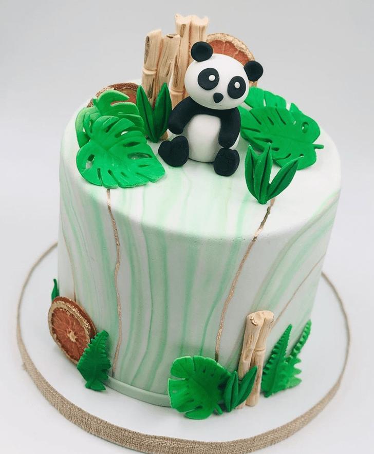 Pleasing Panda Cake