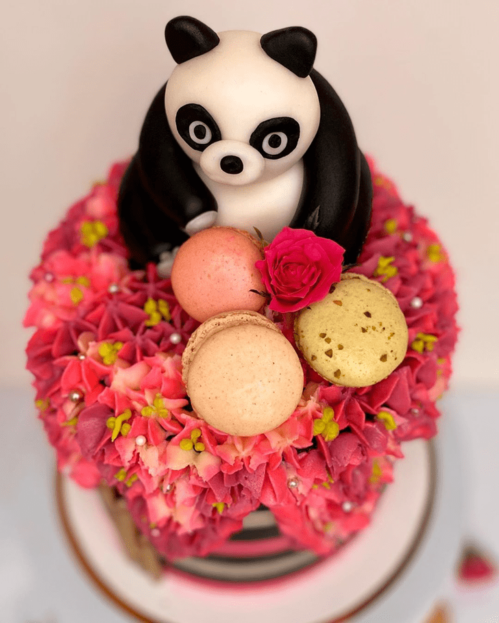 Pretty Panda Cake