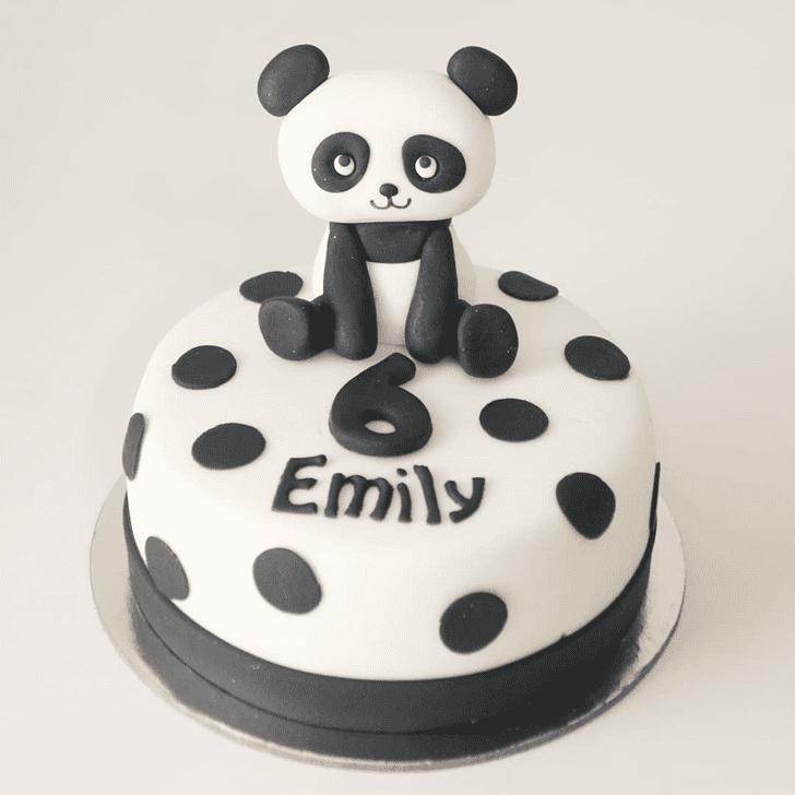 Radiant Panda Cake