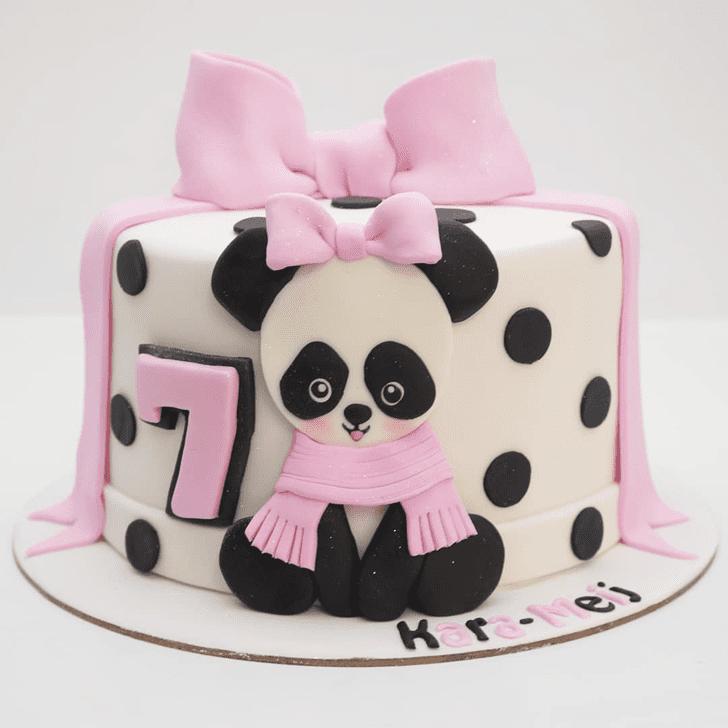 Ravishing Panda Cake