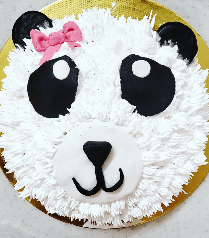 Refined Panda Cake