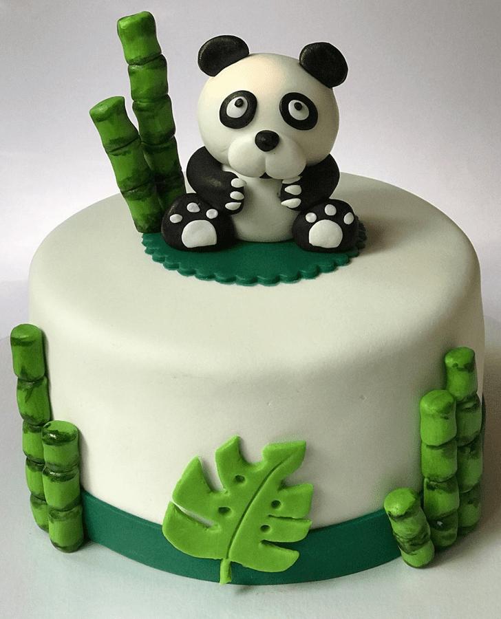 Resplendent Panda Cake