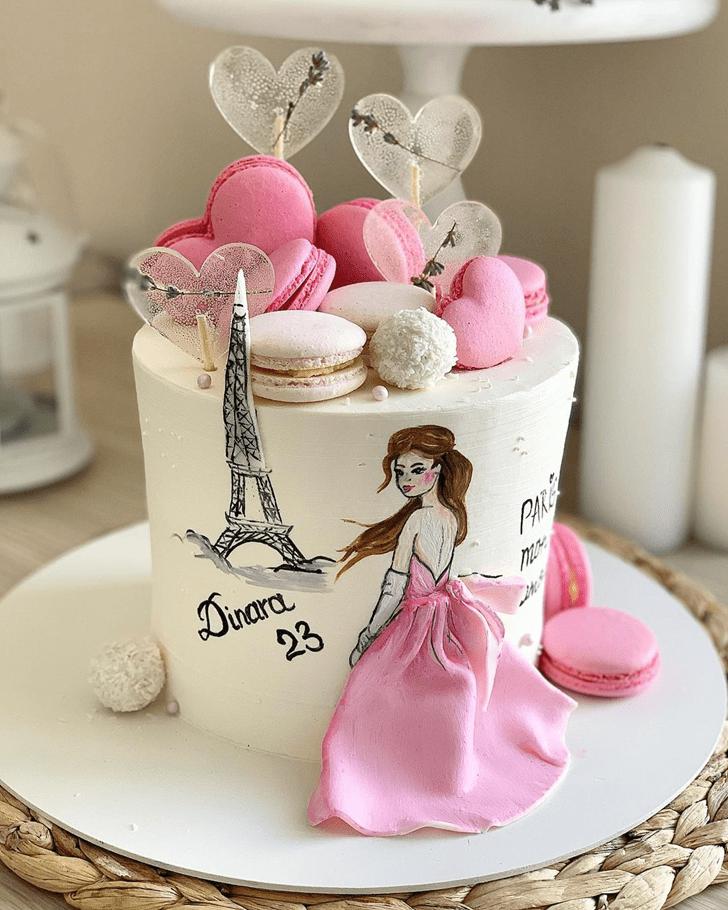 Admirable Paris Cake Design