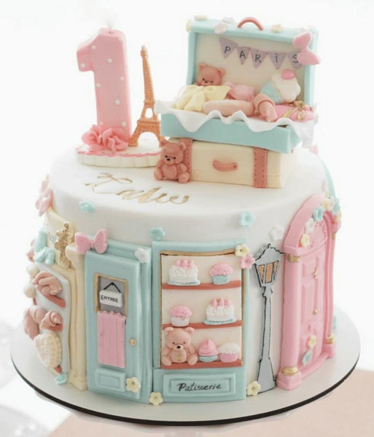 Adorable Paris Cake