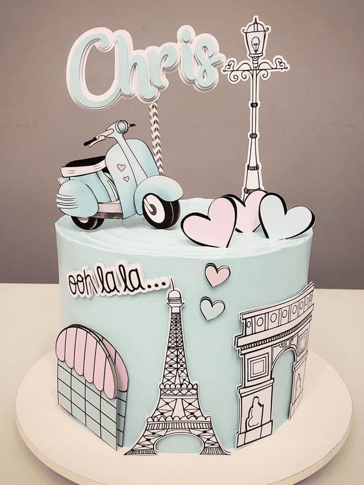 Alluring Paris Cake