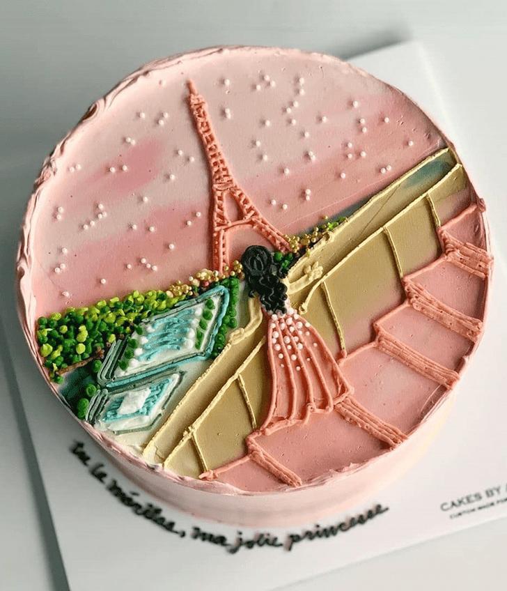 AnParisic Paris Cake