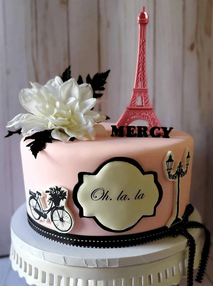Bewitching Paris Cake