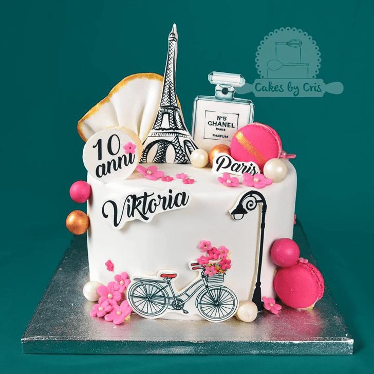 Elegant Paris Cake