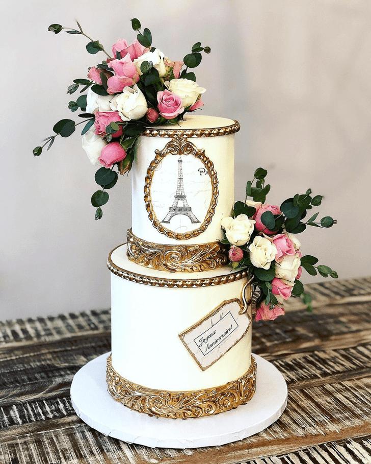 Fascinating Paris Cake