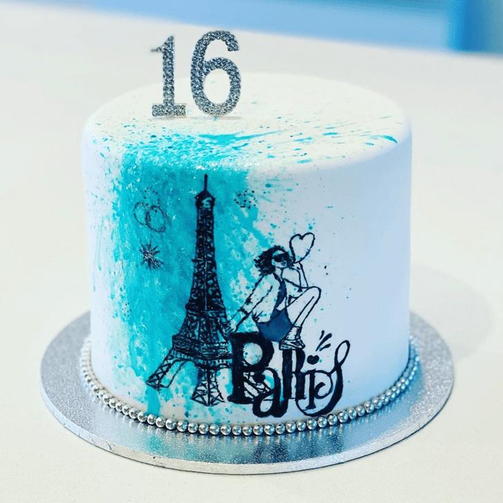 Fetching Paris Cake