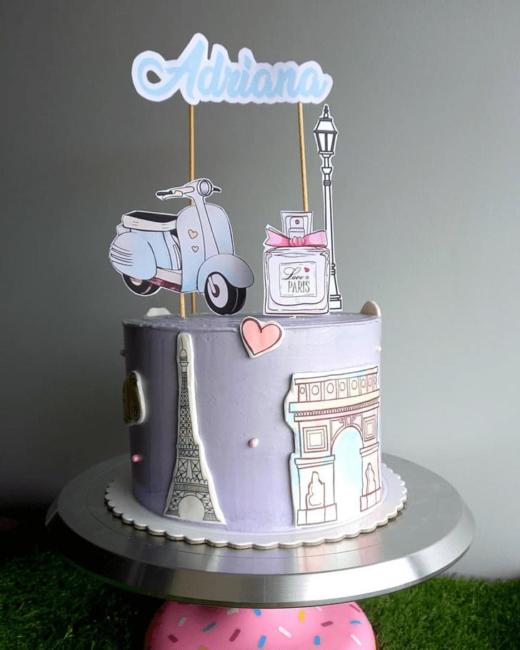Good Looking Paris Cake