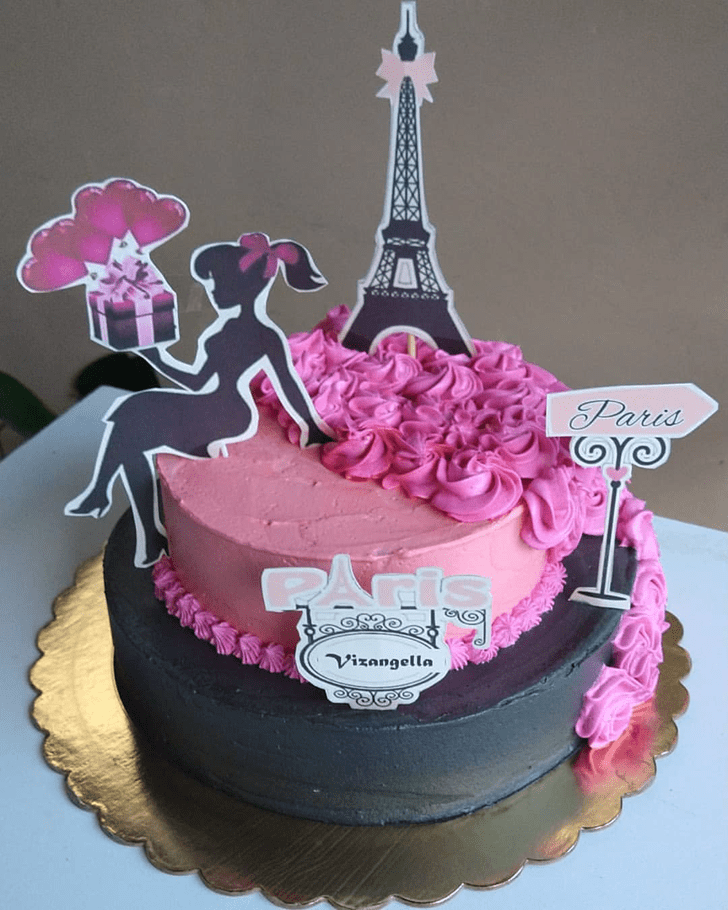 Graceful Paris Cake