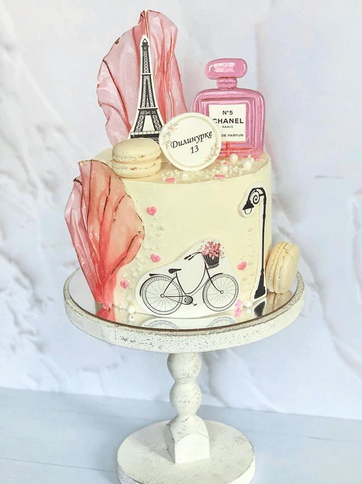 Ravishing Paris Cake