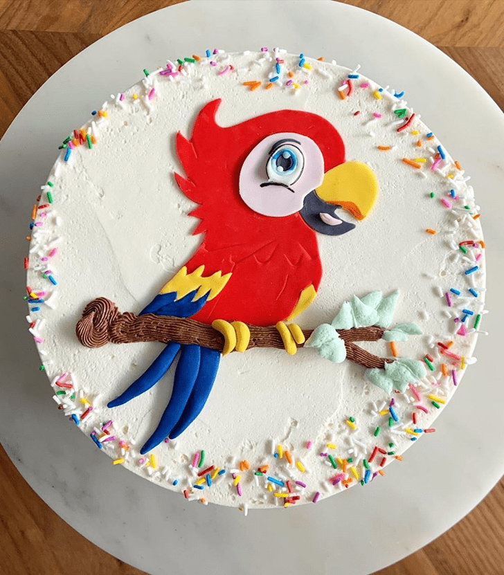 Appealing Parrot Cake