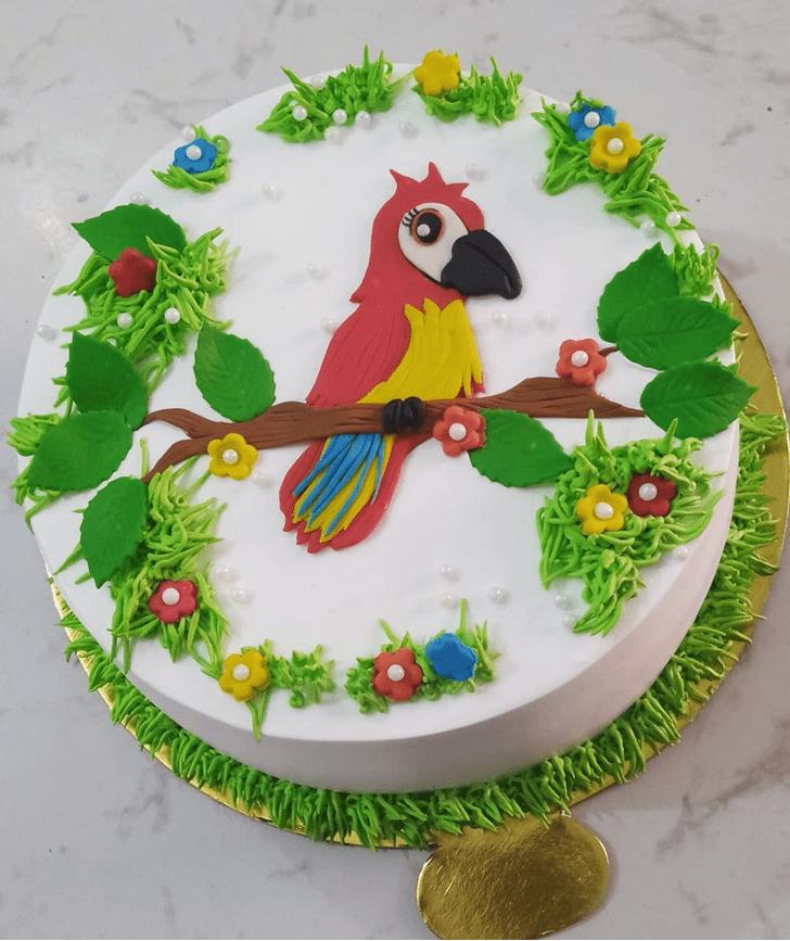Beauteous Parrot Cake