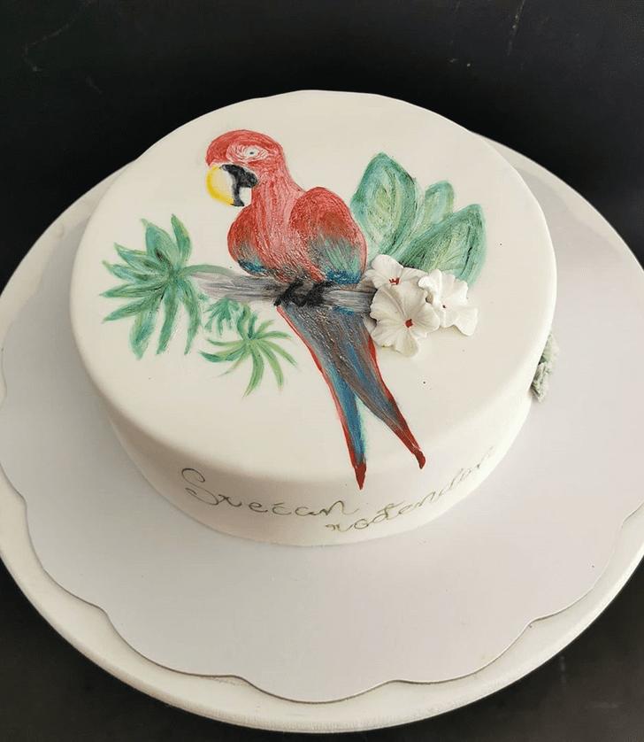 Delightful Parrot Cake