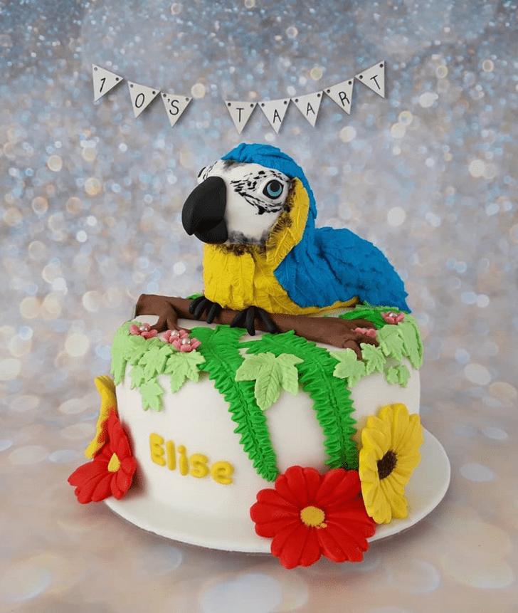 Divine Parrot Cake