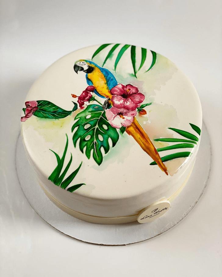 Fascinating Parrot Cake