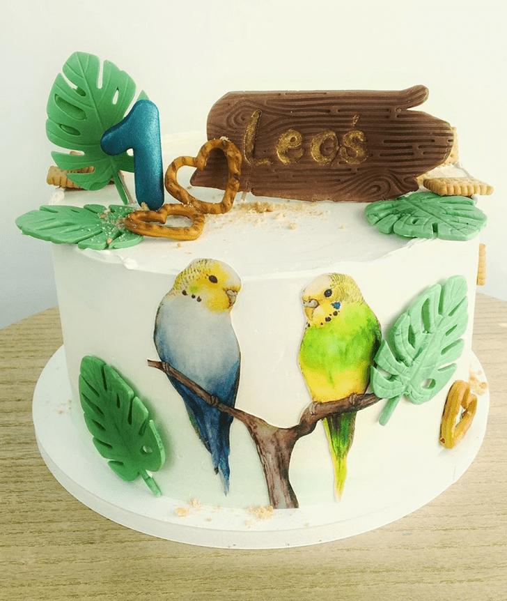 Gorgeous Parrot Cake