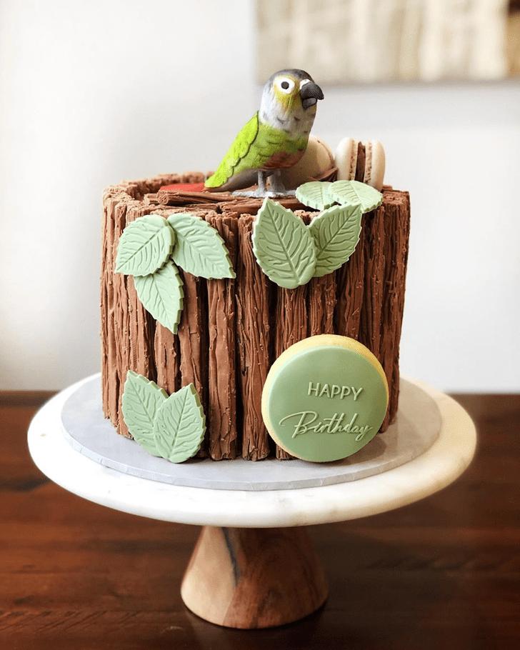 Handsome Parrot Cake