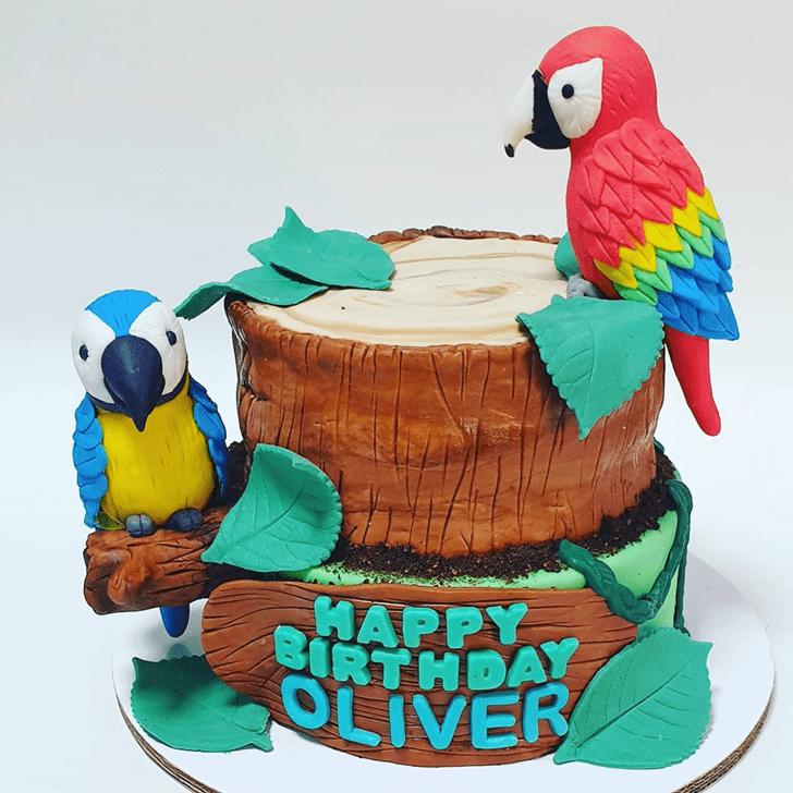 Ravishing Parrot Cake