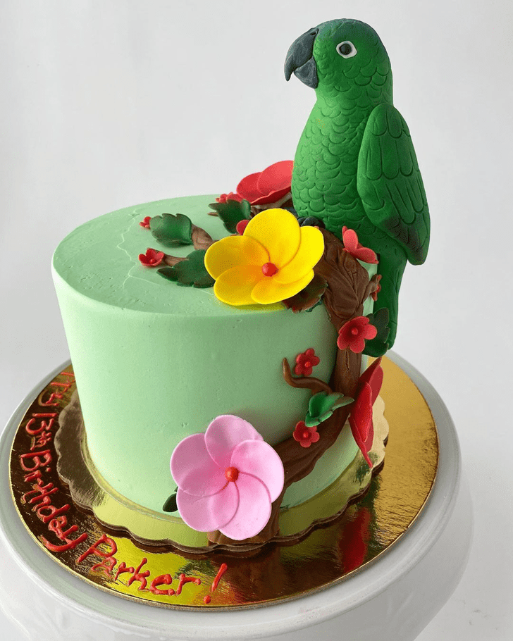 Refined Parrot Cake