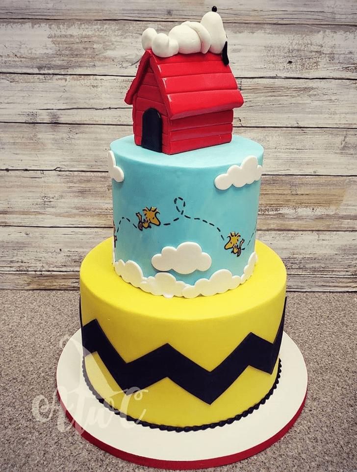 Alluring The Peanuts Movie Cake