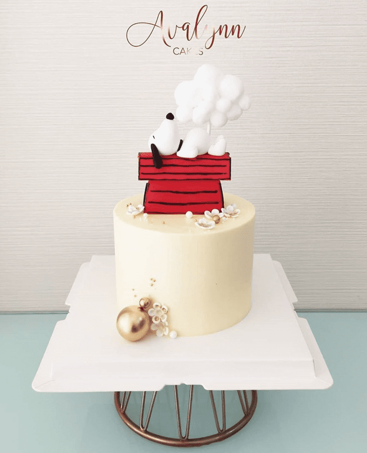 Beauteous The Peanuts Movie Cake