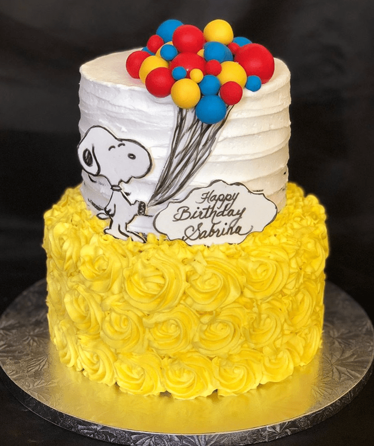 Dazzling The Peanuts Movie Cake