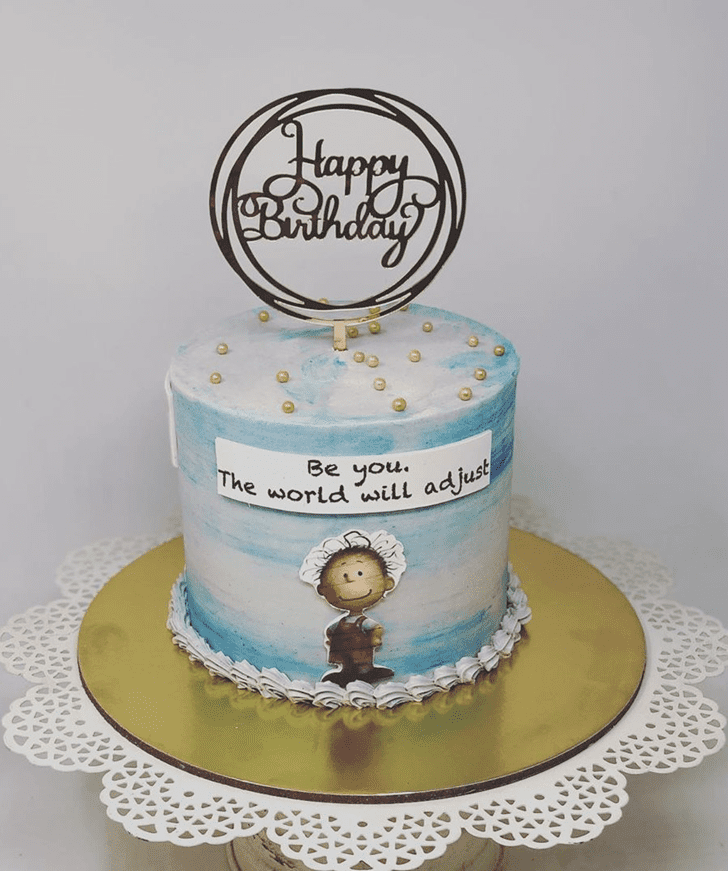 Excellent The Peanuts Movie Cake
