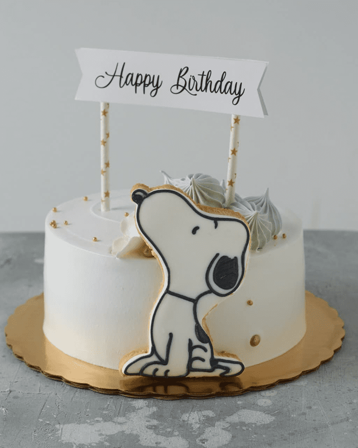 Fascinating The Peanuts Movie Cake