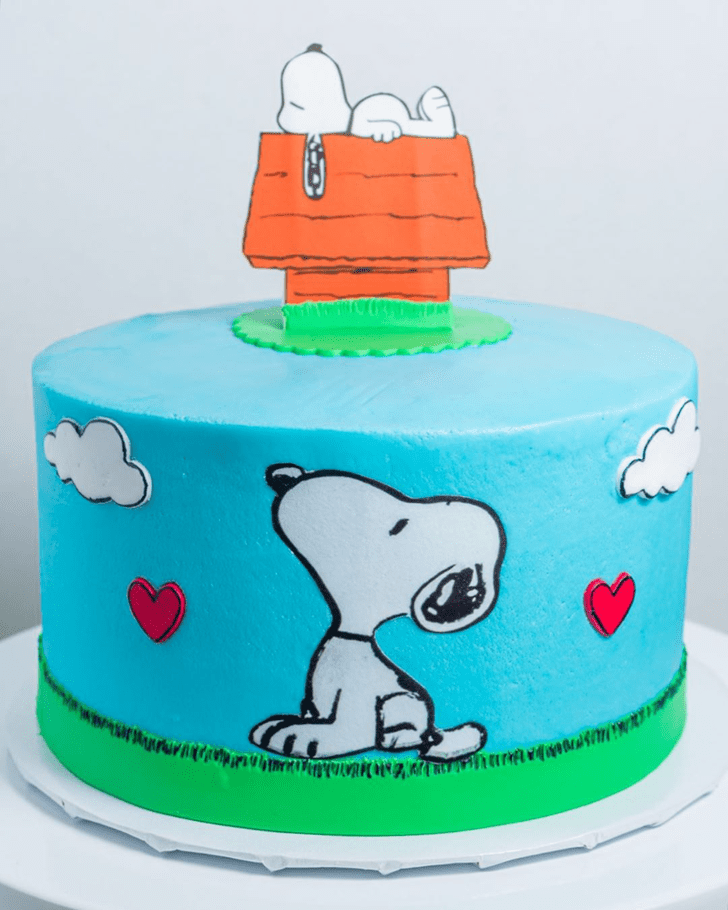 Fine The Peanuts Movie Cake