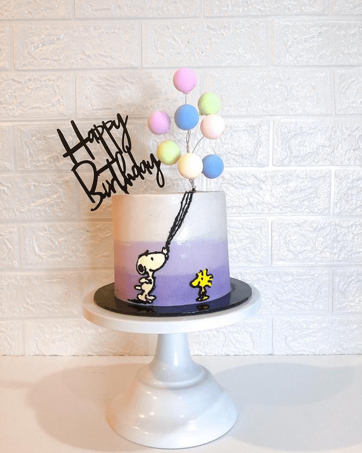 Good Looking The Peanuts Movie Cake
