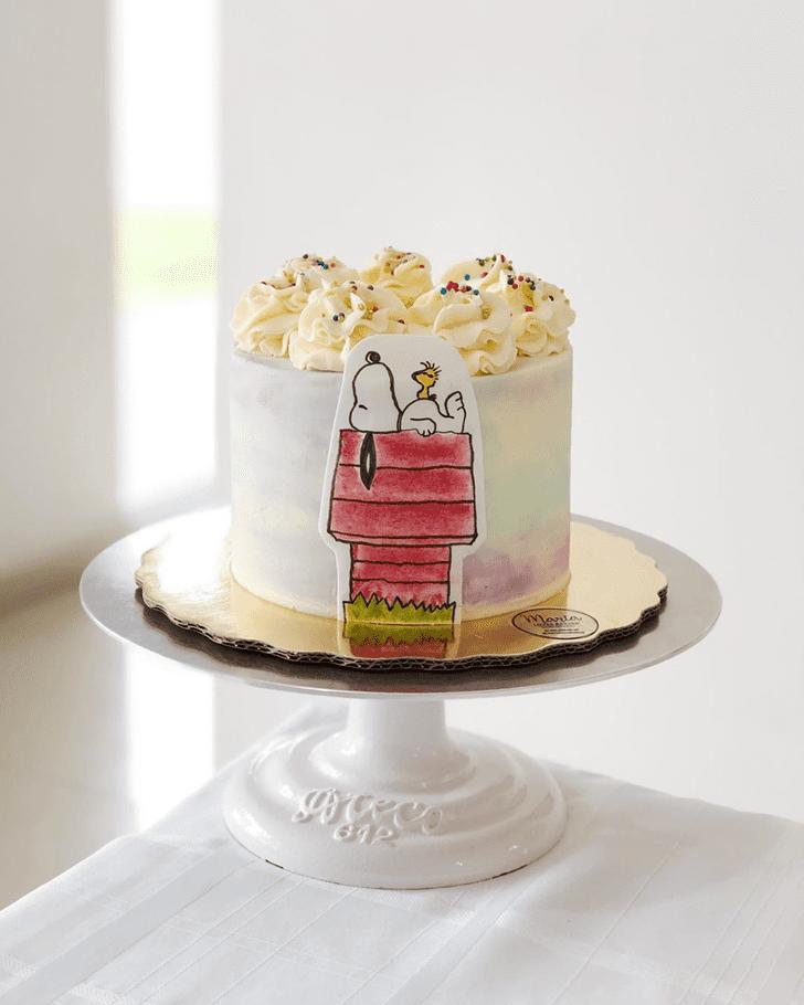 Magnificent The Peanuts Movie Cake