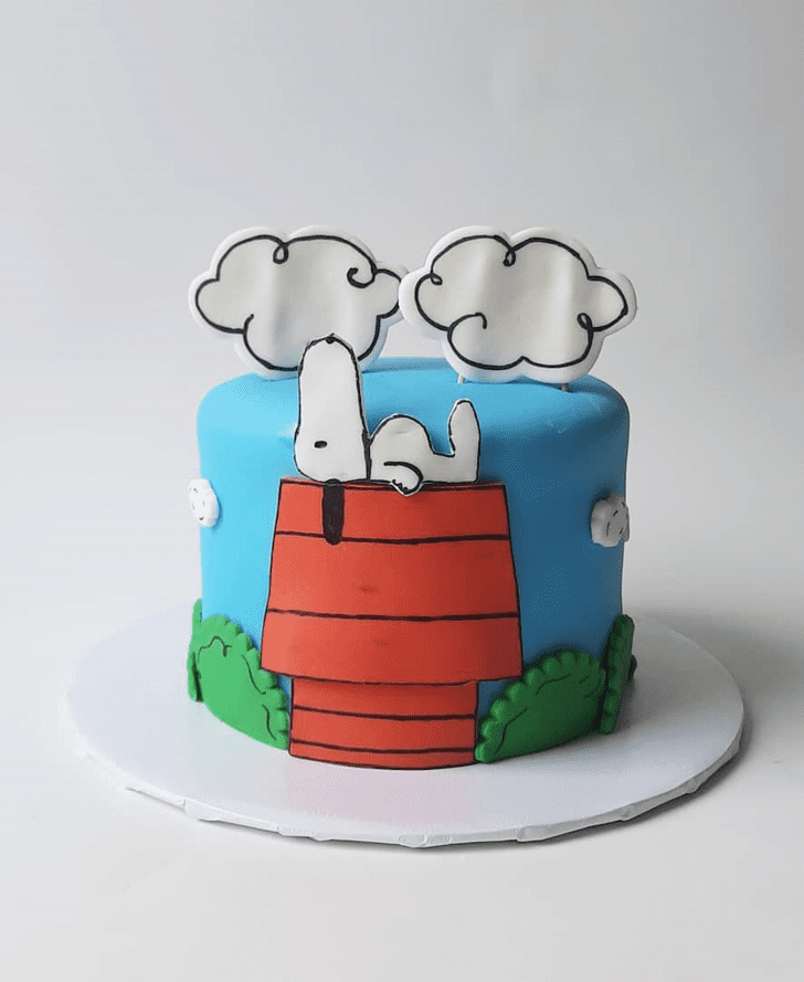Nice The Peanuts Movie Cake