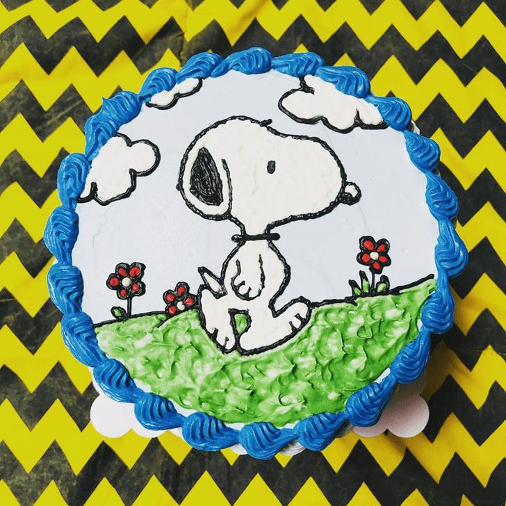 Ravishing The Peanuts Movie Cake