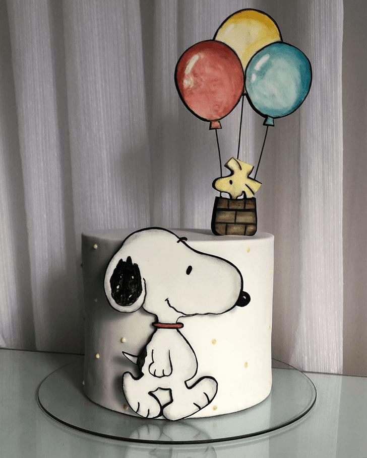 Stunning The Peanuts Movie Cake