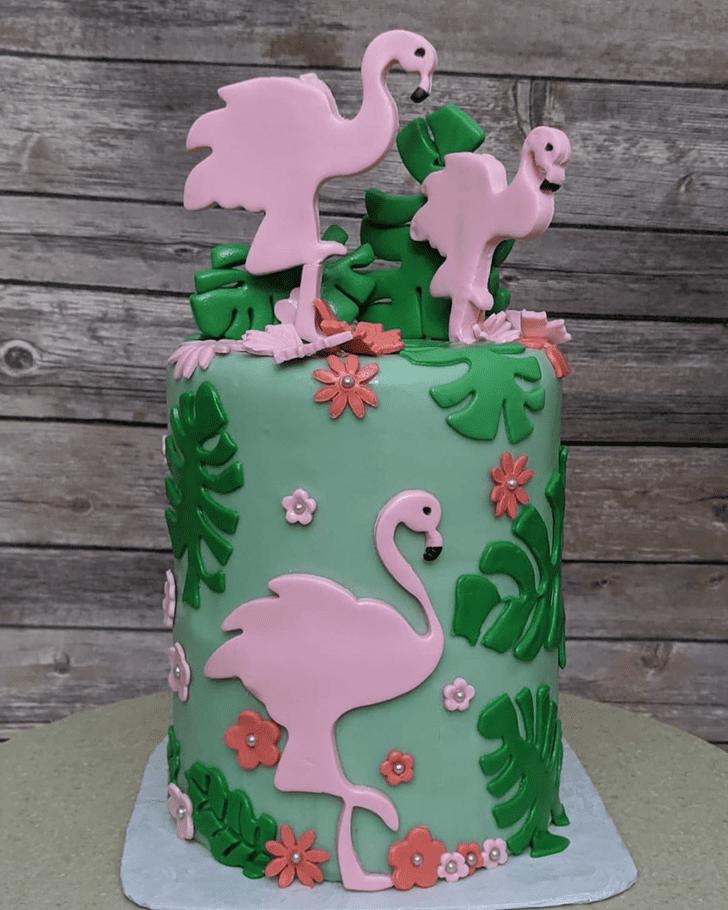 Adorable Pelican Cake