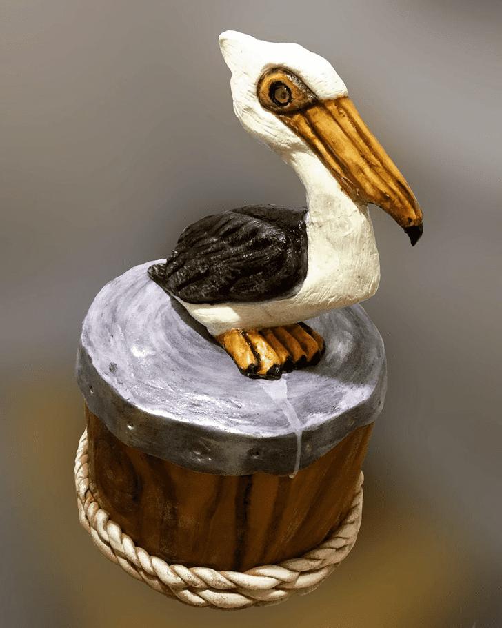Angelic Pelican Cake