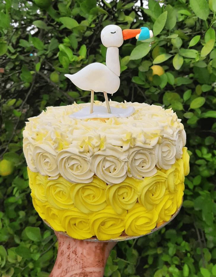 Cute Pelican Cake