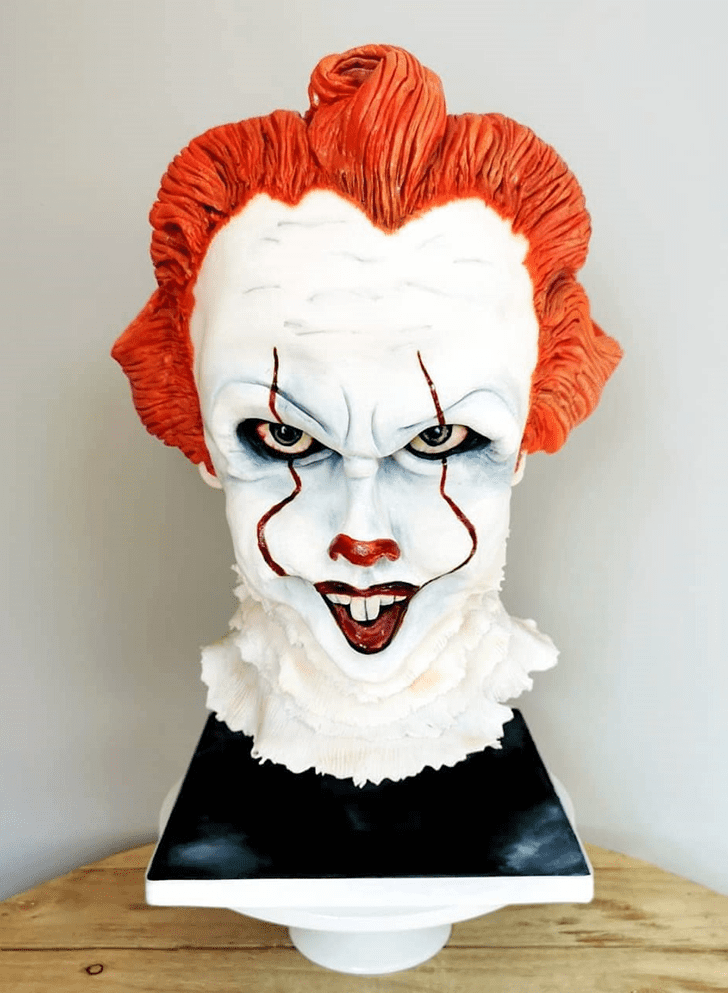 Admirable Pennywise Cake Design
