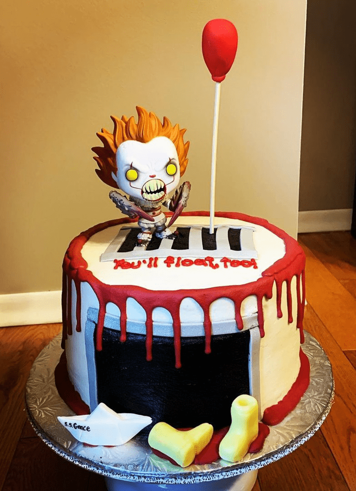 Adorable Pennywise Cake