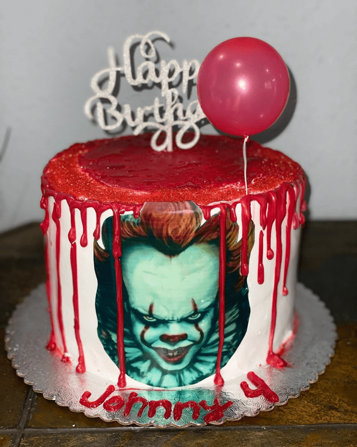 Alluring Pennywise Cake