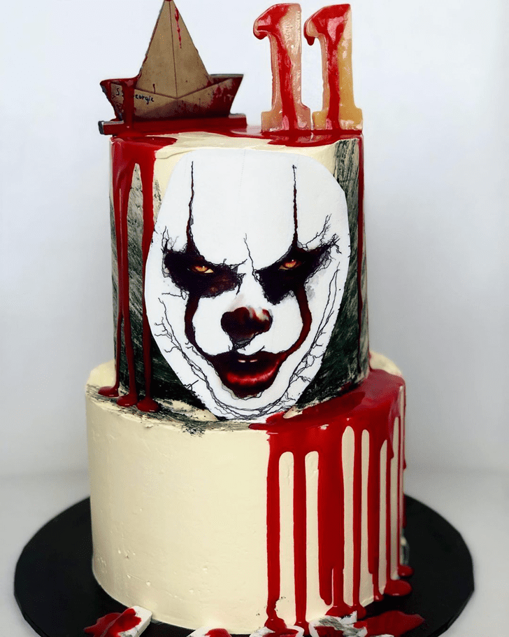 Appealing Pennywise Cake